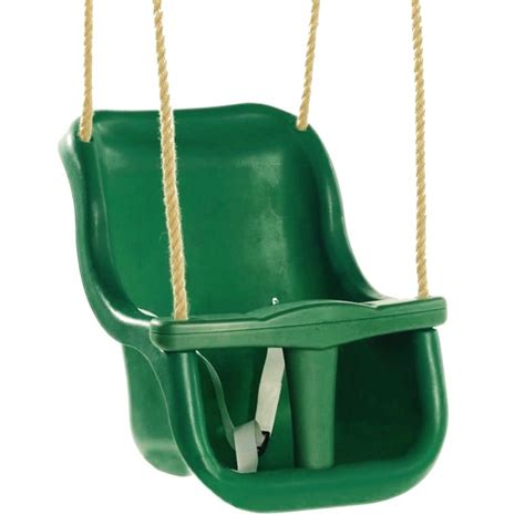 green baby swing rebo back supporting baby safety swing seat adjustable