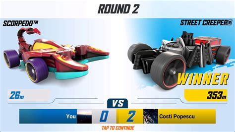 Hotwheels Hotwheel Mountain Mauler wheels race multiplayer battle 6 creeper d mountain mauler