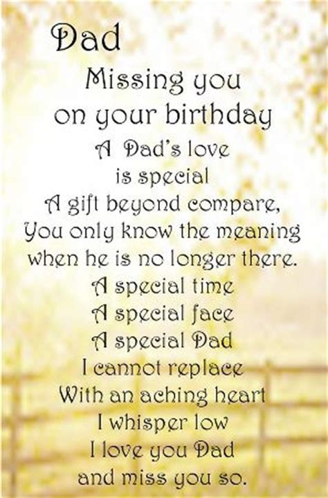 Missing On Birthday Quotes Happy Birthday Dad In Heaven Quotes Poems Pictures From