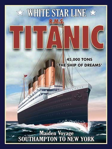 titanic boat poster titanic trains planes and automobiles rms titanic