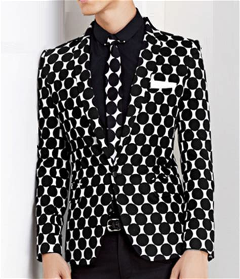white patterned blazer art deco pattern black white trendy blazer