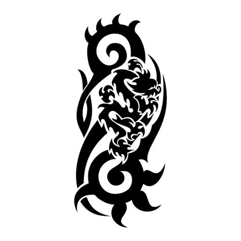 dragon tattoo designs black and white black and white cliparts co