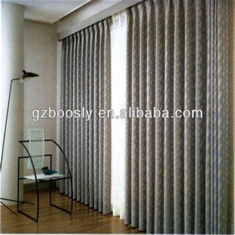 attach curtain rod to ceiling beautiful hotel curtain motorized drapes and curtain