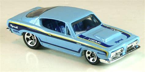 Hotwheels 68 Plymouth Hemi Cuda hemi cuda wheels wiki