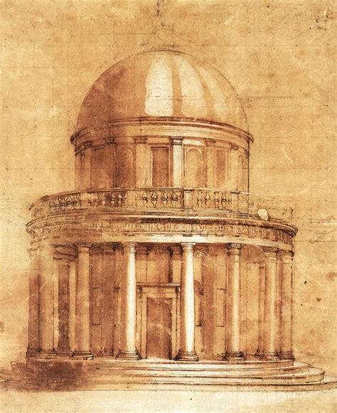 italian architectural drawings bramante donato biography italian paint gallery