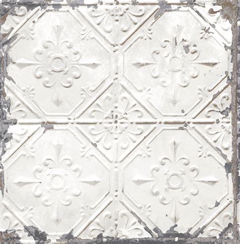 tin ceiling tile wallpaper contemporary wallpaper by