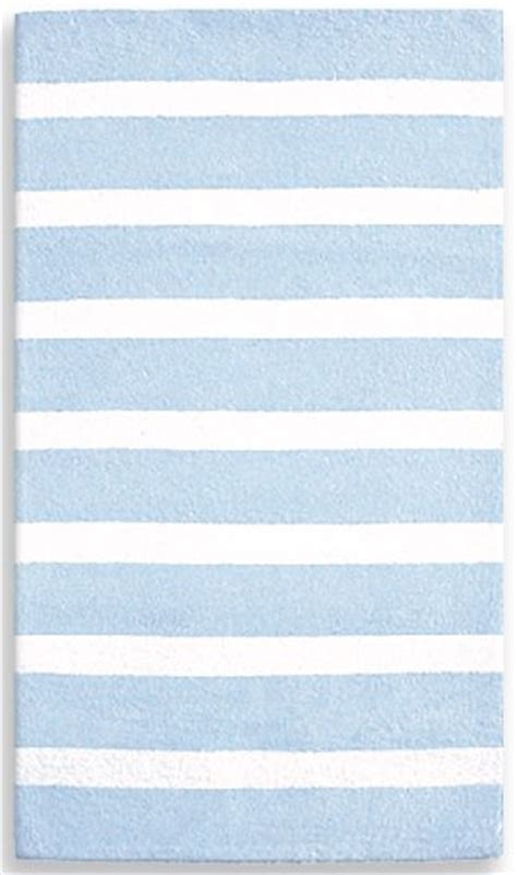 blue and white stripe rug cabana blue and white stripe rug the frog and the princess