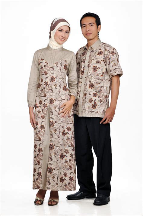 desain gamis ifan gunawan 6 model baju gamis batik kombinasi couple untuk pesta