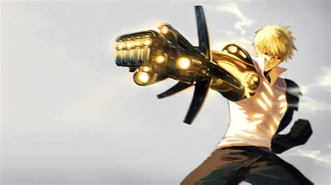 Anime One by Anime One Punch Genos Wallpapers Hd Desktop And