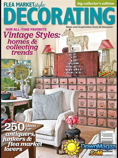 home design magazines 2015 flea market style decorating 2015 187 download pdf magazines