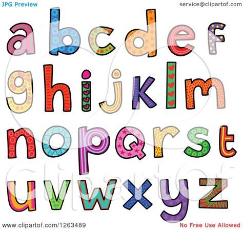 Free Illustration J Letter Alphabet Alphabetically clipart of colorful patterned alphabet letters royalty
