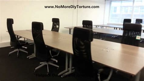 office design with ikea furniture image yvotube com ikea office furniture galant tables youtube