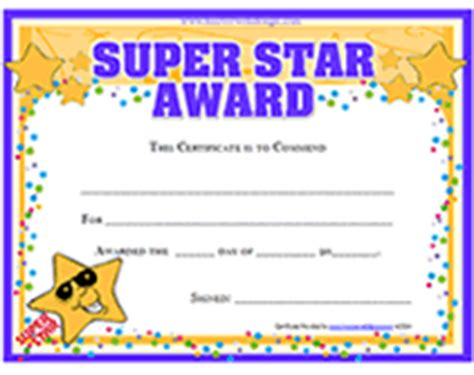 star certificate templates pictures to pin on pinterest