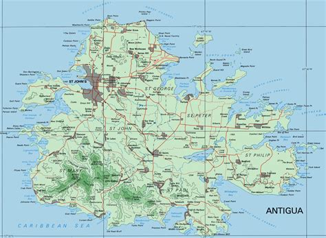 antigua map services resources navigation