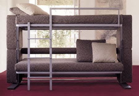 turns into bunk bed concept for complete home