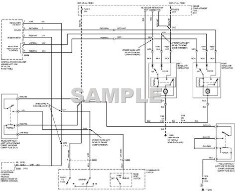 diagram 2001 honda civic wiring headlight circuit 2000