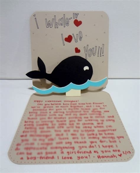 Handmade Birthday Present For Boyfriend - valentine s cards for boyfriendboyfriend on