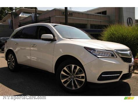 acura mdx 200 2016 acura mdx white 200 interior and exterior images