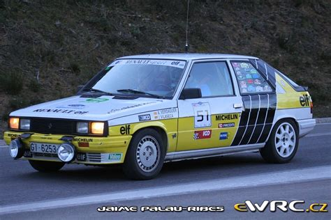 renault rally 2016 renault 11 turbo rally hivern 2016