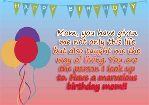 Happy Birthday Wishes From Parents To Top 25 Beautiful Birthday Wishes For Mom Birthday