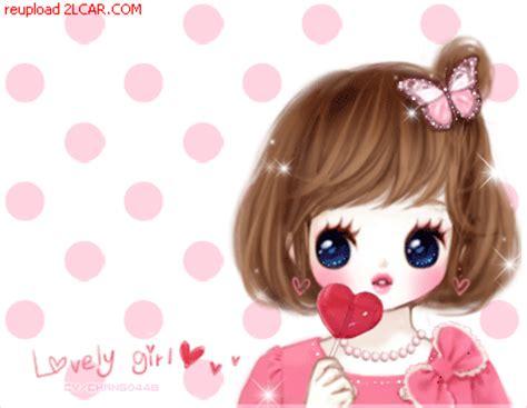 wallpaper cantik kartun korea 6 animasi kartun korea romantis bergerak gambar animasi