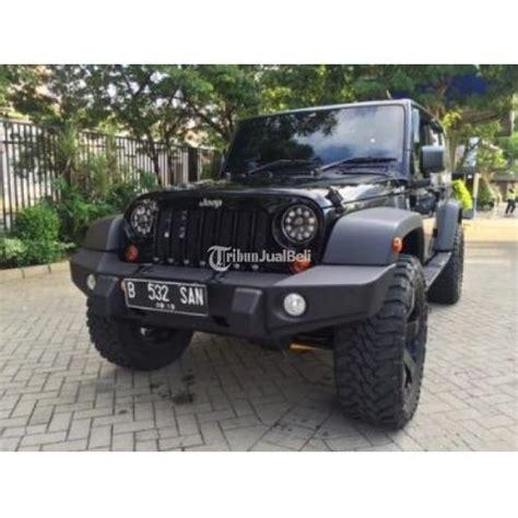 jeep wrangler jk sport bekas tahun 2013 warna hitam harga