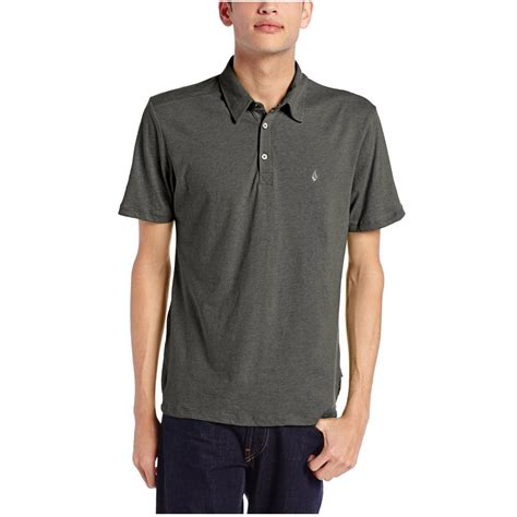 Polo T Shirt Volcom 6 volcom wowzer polo shirt grey