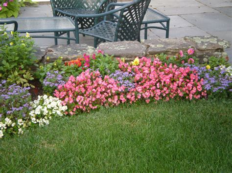 annual flower bed preparation joyce landscaping