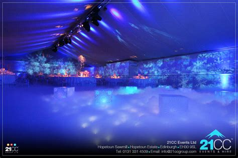 blue themed events fire and ice theme event 21cc group ltd
