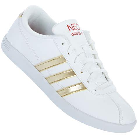 Adidas Hohe Sneaker Damen by Adidas Vl Neo Court W Damen Sneaker Freizeit Leder Schuhe