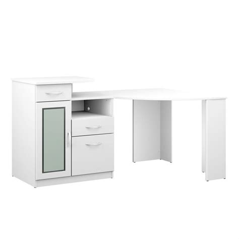 Bush Furniture Vantage Corner Desk Bush Vantage Corner Home Office Computer Desk In White Hm66115a 03