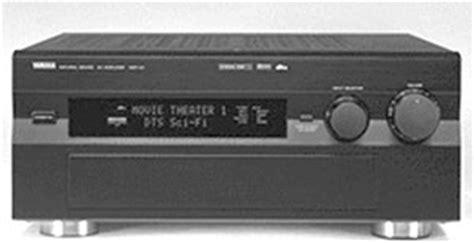 yamaha dsp  manual surround sound processor