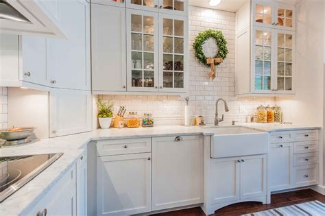 glass cabinet doors kitchen farmhouse with apron sink diy farmhouse sink kitchen traditional with old wood floor