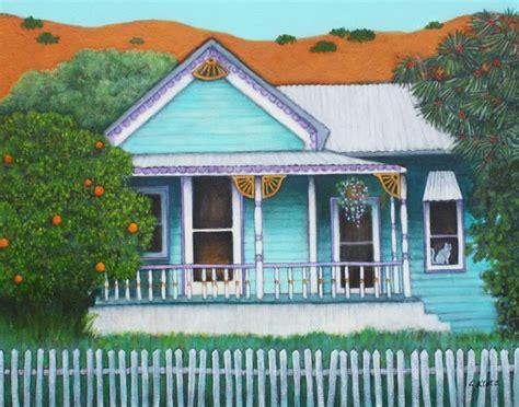 Grandmas House Print By Lorraine Klotz