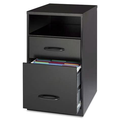 2 Drawer Black Metal File Cabinet by Black Metal 2 Drawer Filing Cabinet With Office Storage