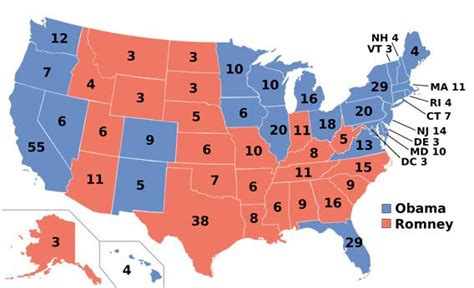 united states political party map 2012 defending the electoral college