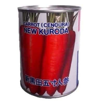Harga Bibit Wortel jual benih takii seed wortel new kuroda 100 gram bibit