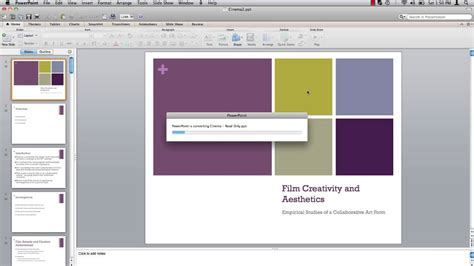 tutorial powerpoint doc how to save powerpoint document as read only