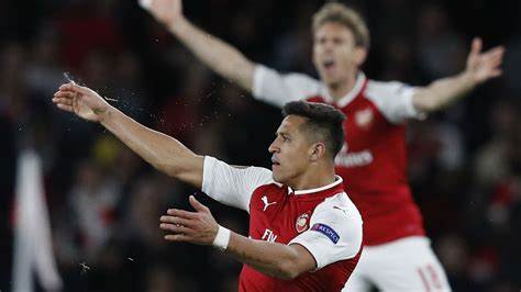 alexis sanchez europa league tv guide date time and where to get your football fix