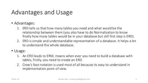 limitations of er diagram database entity relationship diagram erd
