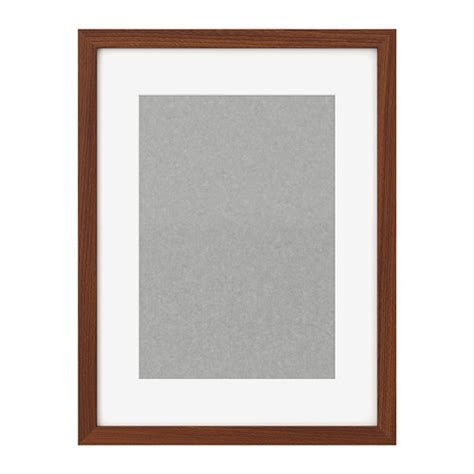 ribba frame medium brown ikea wall frames frames pictures ikea