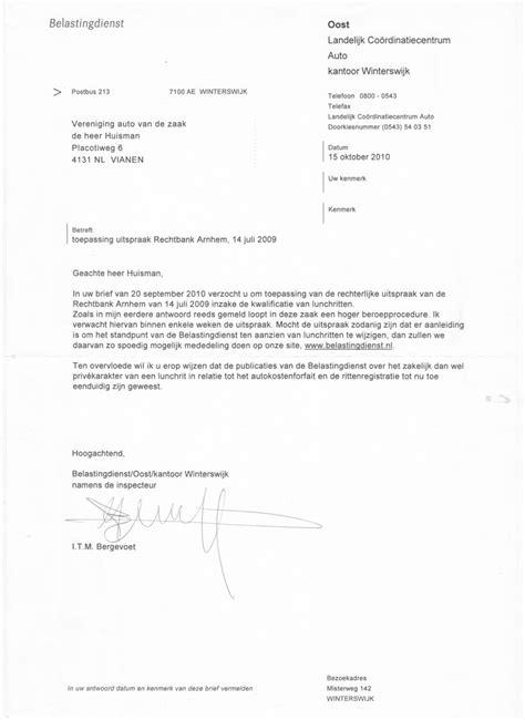 voorbeeldbrief bezwaarschrift belastingdienst brief aan belastingdienst voorbeeld cv voorbeeld 2018