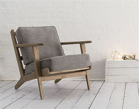 Small Modern Armchair by Karla Scandinavian Style Chair By Swoon Editions