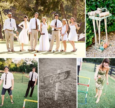 backyard wedding games how to throw a backyard wedding the extras green