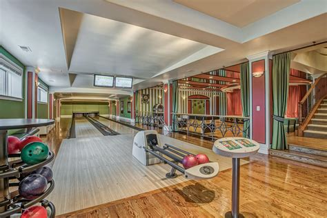 Design Your Own Home Theater Room the dude abides 13 homes for sale with bowling alleys