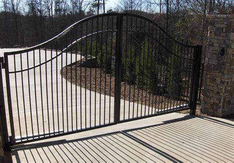 Decorative Gates by Retaining And Decorative Walls Fences Columns And Gates