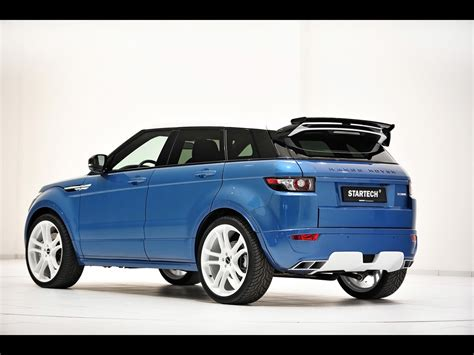 range rover blue startech custom evoque based on land rover range rover