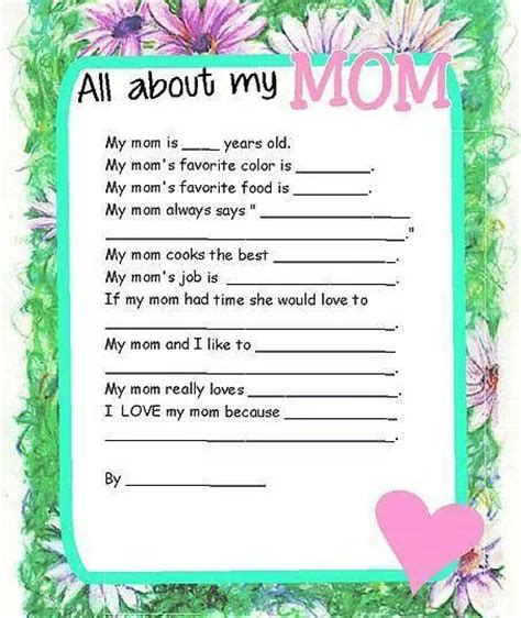 s day quiz mothers day quiz for holidays crafts etc