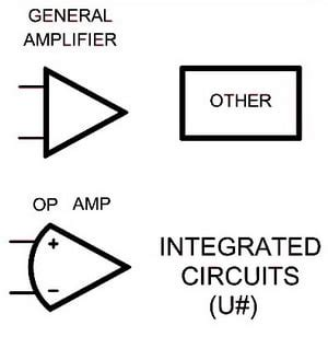 schematic symbol for integrated circuit electrical schematic symbols names and identifications removeandreplace