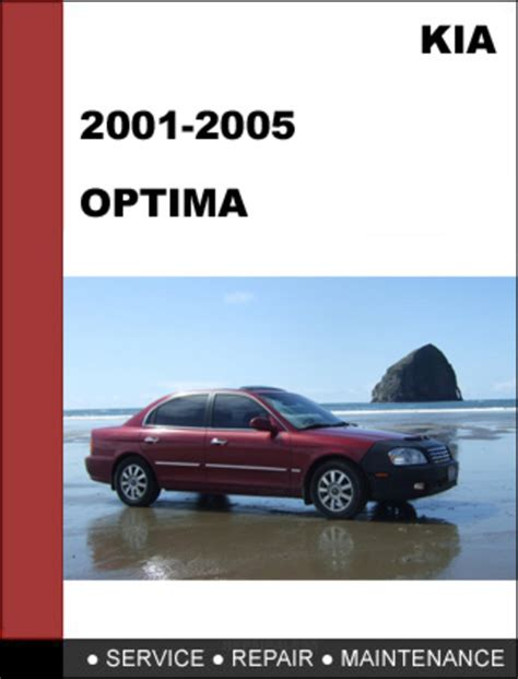 car repair manual download 2005 kia optima parking system kia optima 2001 2005 oem service repair manual download download